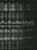 Katalogeinband Joannis Avramidis. Polis-Tempel-Agora