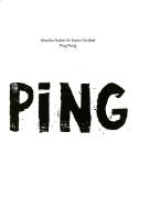 Katalogeinband Monika Nuber und Katrin Ströbel. Ping Pong