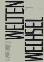Katalogeinband Weltenwechsel. Sammlung Siegfried Seiz Figürliche Malerei aus dem letzten Jahrzehnt der DDR und heute