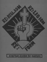 Katalogeinband Rebellion Religion Reform