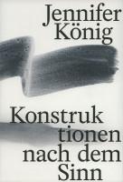 Katalogeinband Jennifer König