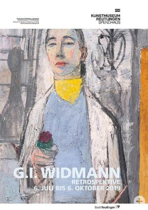 Ausstellungsplakat - G.I. Widmann Retrospektive