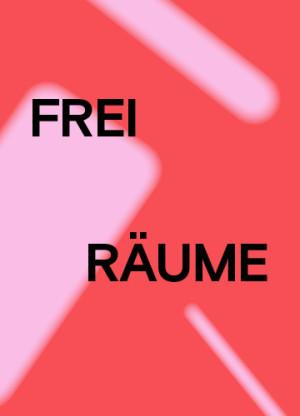 Grafik Freiräume Kunstmuseum Reutlingen, Gestaltung Studio Pandan