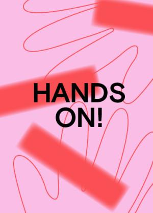 Grafik Hands on! Kunstmuseum Reutlingen, Gestaltung Studio Pandan