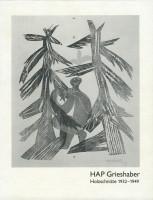Katalogeinband Bestandsverzeichnis: HAP Grieshaber Holzschnitte 1932-1949