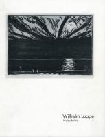 Katalogeinband Bestandsverzeichnis: Wilhelm Laage Holzschnitte