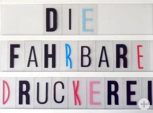 Die fahrbare Druckerei – Kunstmuseum Reutlingen unterwegs