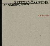 Katalogeinband Alb hoch drei Zeitgenössische Annäherungen
