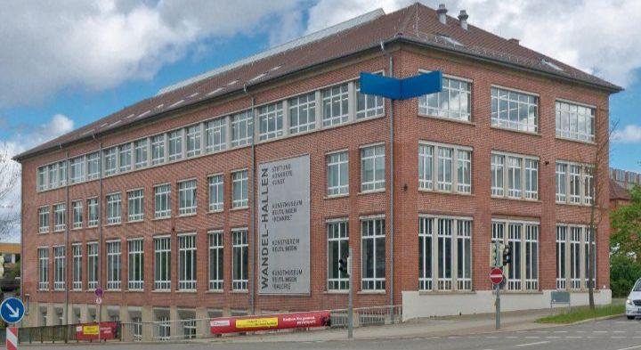 Außenansicht Wandel-Hallen, Kunstmuseum Reutlingen Galerie