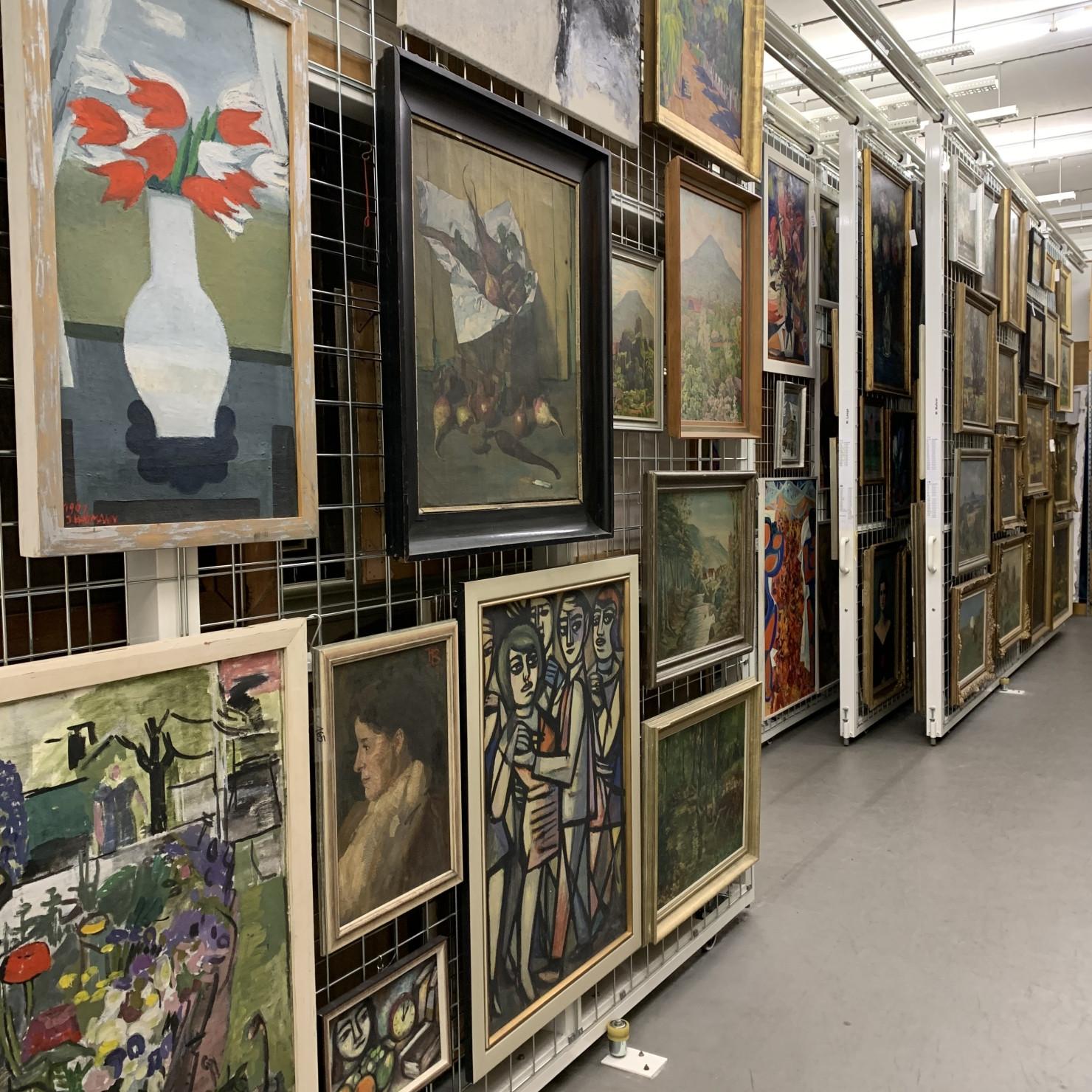 Einblick in die Sammlung des Kunstmuseums Reutlingen